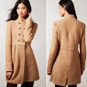 NEW! Anthropologie Moth MidTown Wool Jacket